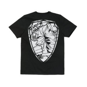 Black Breast Patch & Shield – T-shirt