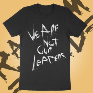Leaders – T-shirt – Black