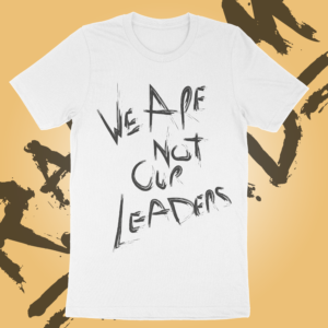 Leaders – T-shirt – White
