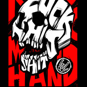 Fuck This Shit Skull – T-shirt